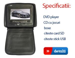 dvd player auto tetiera