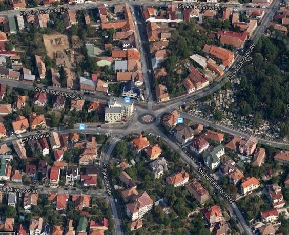 Intersectie Cluj - 7 strazi