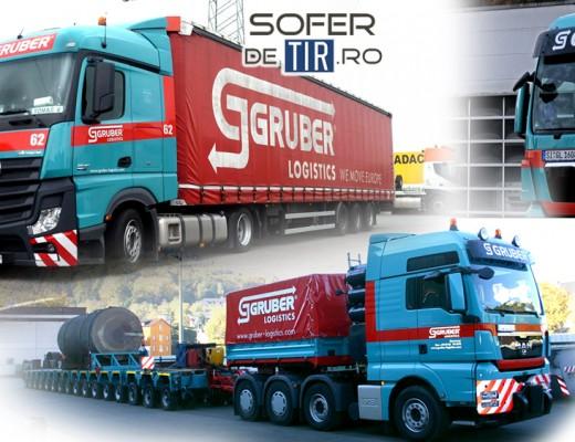 Angajare soferi tir - Gruber Logistics