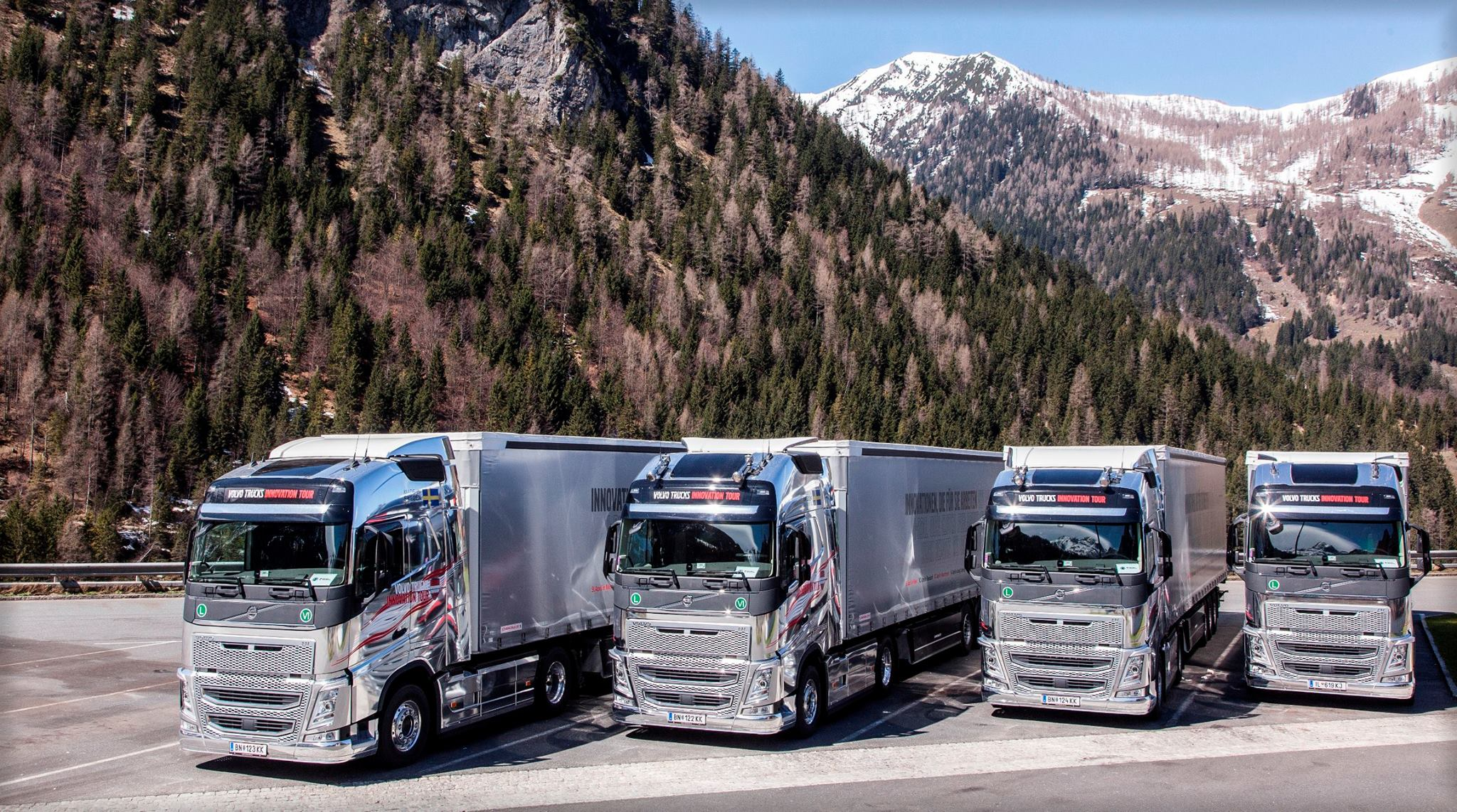 Volvo Innovation Tour Austria 2015