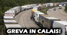 Greva feribot Calais 2015