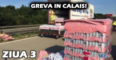 Greva Calais - Ziua 3