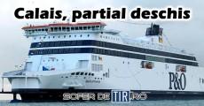 Portul Calais, partial deschis