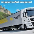 Angajari soferi de TIR incepatori - Hartl Timisoara