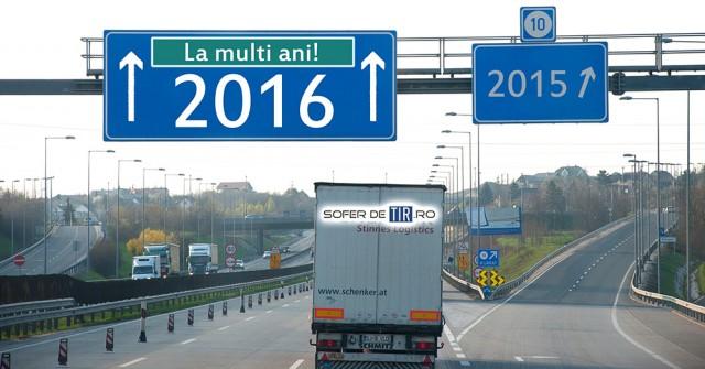 La multi ani 2016 Sofer de TIR