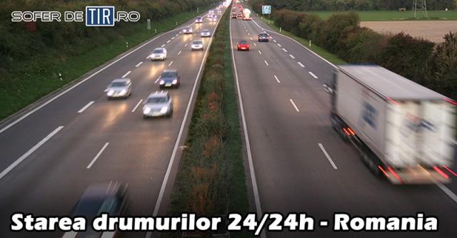 Starea drumurilor - Romania