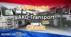 Angajari soferi AKO Transportservice Olanda