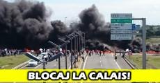 protest blocaj calais eurotunnel