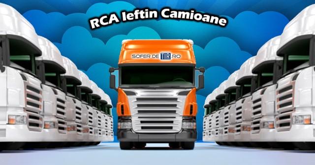 Asigurare RCA ieftina pentru camioane