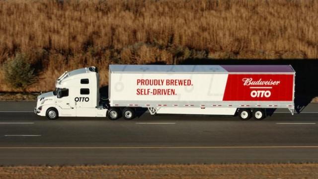 Otto - Budweiser - camion autonom